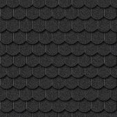 Seamless dark tile texture background for continuous replicate.