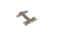 picture of unicity  - unic steel modern key on white background 3 - JPG