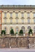 The Facade Of Stockholm Royal Palace (kungliga Slottet) In Old Town (gamla Stan), Stockholm, Sweden