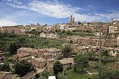 Montalcino. Tuscany, Italy