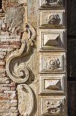 De Franchi Palace. Pisticci. Basilicata. Southern Italy.