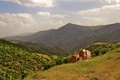 Iraqi Mountains In Autonomous Kurdistan Region Near Iran
