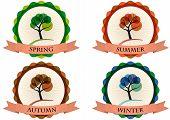 Tree Season Badge