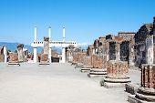 Pompei Ruines, Naples, Italy