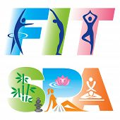 Fitness Sign Icons