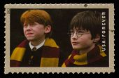 UNITED STATES - CIRCA 2013: postage stamp printed in USA showing an image of Harry Potter and Ron We