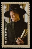 UNITED STATES - CIRCA 2013: postage stamp printed in USA showing an image of Professor Minerva McGon