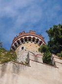 Alberti Castle In Genoa Italy