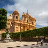 Castel Duomo - Renovated Baroque Cathedral In Old Town Noto, Sicily, Italy
