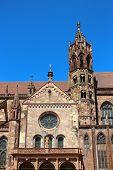 Freiburg Minster In Freiburg Im Breisgau, Germany