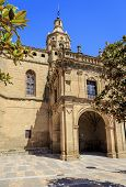 image of ascension  - Church of the Ascension in San Asensio La Rioja Spain - JPG