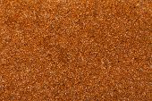 Close Up Flaxseed Linseed Brown Red Food Background Texture