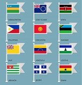 Flags set four-16
