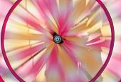 Spinning Pinwheel On The Wind