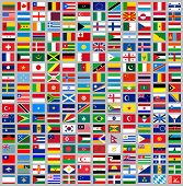 216 Flags all world