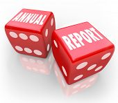 Roll the Annual Report Dice Take Risk Business Increase Growth
