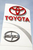 Toyota And Scion Sign