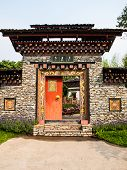 Bhutan Traditional Entrance Gate
