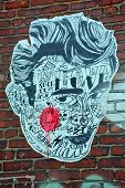 James Dean Street art Montreal