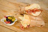 Ham And Cheese  Sub
