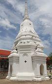 White Prang In Thailand ,asia