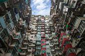 Hong Kong Residential flat Building Skyline