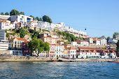 ancient Town of Porto along douro river
