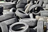 Old Used Car Tires