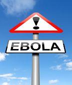 Ebola Concept.