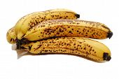 Browned Bananas Used In Baking Muffins Or Bread