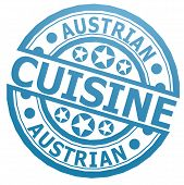 Austrian Cuisine Stamp