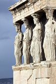Erechtheum Is An Ancient Greek Temple In Acropolis