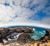 Beach of Lansarote - Canary island