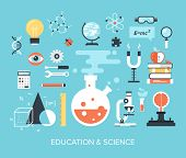 Постер, плакат: Education And Science