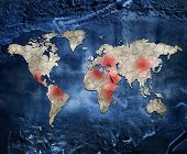 Hot spots of the world