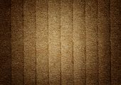 Brown Grunge Corrugated Cardboard