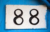 Street Wall Number