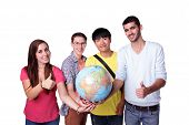 Happy Exchange Student