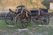 Old passenger cart