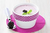 Yogurt With Sweet Dewberry