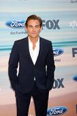 LOS ANGELES - SEP 8:  Kevin Zegers at the 2014 FOX Fall Eco-Casino at The Bungalow on September 8, 2