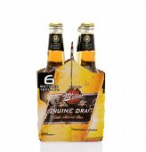 Miller Genuine Draft Six Pack End
