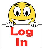 Log In Login On Sign Shows Sign In Online