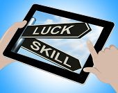 Luck Skill Tablet Shows Expert Or Fortunate