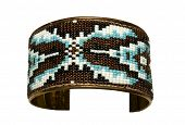 Beautiful bead design on a bracelet