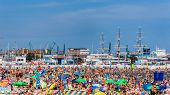 Municipal beach in Gdynia