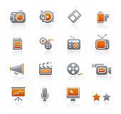 Multimedia // Graphite Icons Series