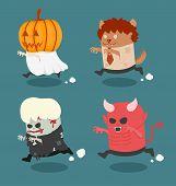 Halloween Monster Costume Set 2