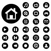 Vector Collection Of Web And Mobile Icons.