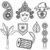 Design for Dussehra decoration